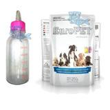 Mamadera + Leche Para Cachorros Lactantes Perros