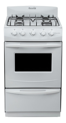 Cocina Escorial Candor S2 Linea Nueva .blanca Gas Natural