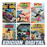 Batman Novaro Colección Cómic Digital 1300 Ejemplares