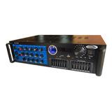 Consola Amplificador Usb Sd Mic 600w Bluetooth Potenciada