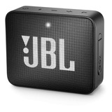 Parlante Jbl Go 2 Portátil Con Bluetooth Midnight Black 110v/220v