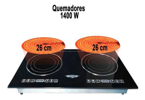 Parrilla Induccion Electrica Estufa 110v 2 Quemadores Cocina