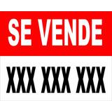 Se Alquila / Se Vende / Cartel En Lona