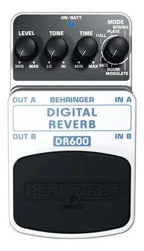 Behringer Dr-600 Pedal Digital Reverb Totalmente Nuevo