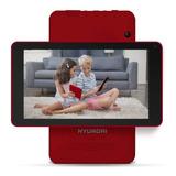 Tablet  Hyundai Koral 7w4x Tercera Generación Ht0701w16 7  16gb Rojo Con Memoria Ram 1gb