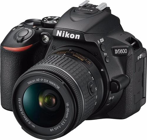 Nikon D5600 Dslr Color Negro