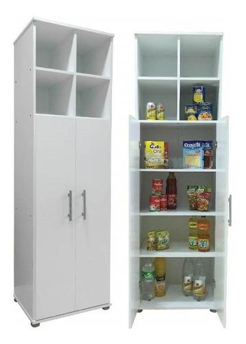 Despensero 2 Puertas 1.80m Multifuncion Cocina Organizador