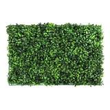 10pzs Follaje Artificial Sintetico Para Muro Verde 60x40cm!!