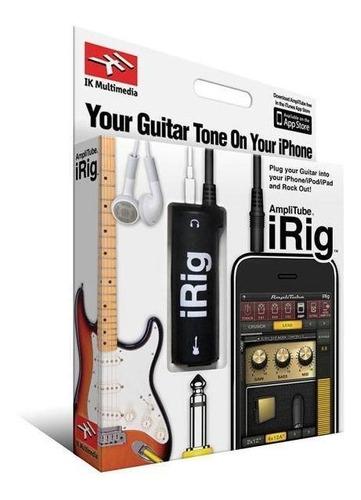 Interfaz Irig Original Guitarra Bajo Para Android Apple Pc