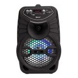 Caixa De Som Lenoxx Ca100 Portátil Com Bluetooth Preta 110v/220v