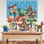 Kit Festa Toystory Painel Polibanner E Display Mdf Adesivado Original
