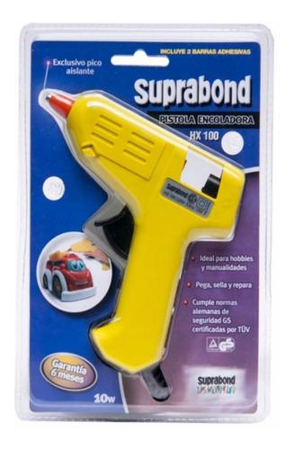 Pistola Encoladora Silicona Chica 10w Hot Melt Suprabond