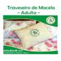 Travesseiro De Macela Para Dormir - Adulto - Essenciallis Original