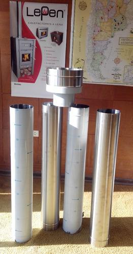 Lepen  Kit De Instalación P/techo Acero Inoxidable 6 Pul