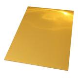 Vinilo Dorado Metálico Adhesivo Imprimible A4 /20 Hojas