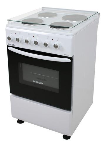 Cocina Eléctrica Philco Phce051b Blanca 50 Cm 5975w