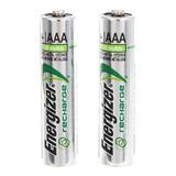 2 Pilas Recargables Aaa  Energizer Nimh 1.2v - 700 Mah