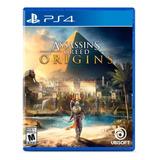 Assassins Creed Origins Ps4 Formato Físico Original