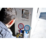 Carga De Gas Aire Acondicionado Split Reparacion Matriculado