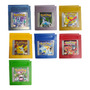 Pokémon Crystal Silver Gold Yellow Blue Red, Game Boy Color Original