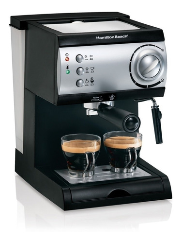 Maquina Para Espresso Hamilton Beach 40715 42 Tazas 15 Bar