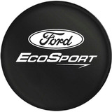 Funda Cubre Rueda Auxilio Ford Ecosport - Logo Blanco - Muss