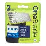 Philips Repuesto De Cuchilla Oneblade / One Blade Pro X 2
