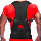 Corrector De Postura Espalda Ajustable Magnético Garantizado