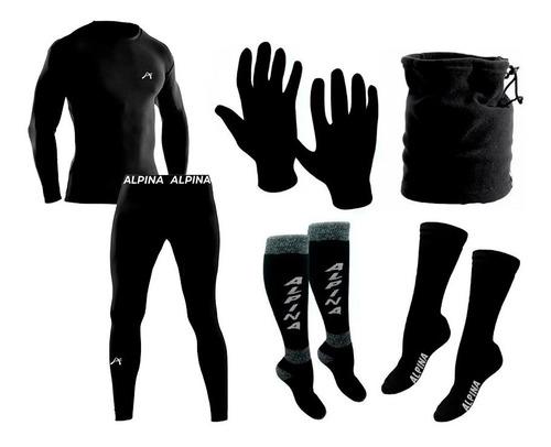 Kit Termico Alpina Frizado Extremo Conjunto + Accesorios Sti