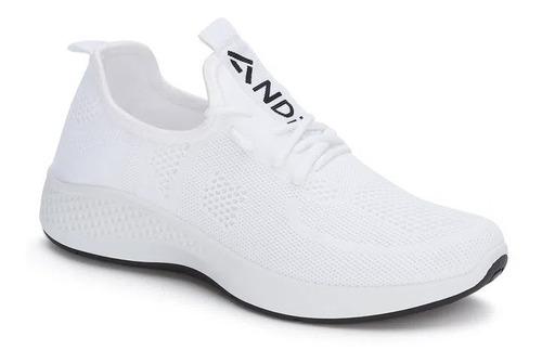 Tenis Deportivo Mujer Blanco Sneaker Comodos Ligeros And
