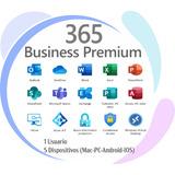 Licencia Office365 Premium Business 2021 Suscripción