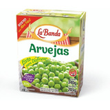 Arvejas Remojadas Tetra Recart 340 Grs. La Banda