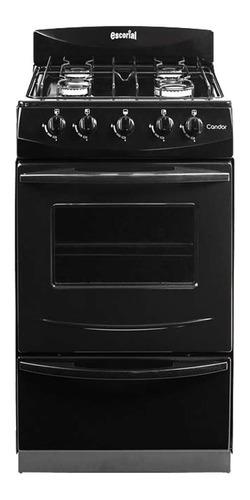 Cocina Escorial Candor S2 Gas Envasado Lnea Black