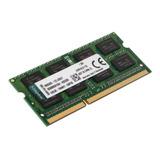 Memoria Ram Valueram Color Verde  8gb 1x8gb Kingston Kvr16ls11/8