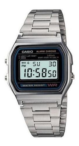 Reloj Casio Retro Vintage Unisex A158wa-1d Envío Gratis