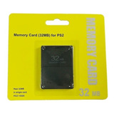 Memory Card 32mb Ps2 Playstation 2 Free Mcboot