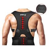 Corrector De Postura Faja Magnetico Ajustable Completo