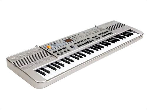 Organo Teclado Musical 61 Teclas Electrico Usb Lcd Microfono