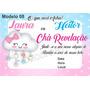Convites Para Chá Revelação Com Laço Chuva De Amor 65 Unid ! Original