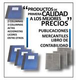 Libros De Actas 500 Folios Tambien De 100,200,300,400 Folios