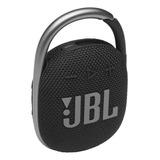 Parlante Jbl Clip 4 Portátil Con Bluetooth Black