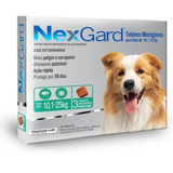 Comprimido Antipulgas Nexgard 10 A 25 Kg + Envio Gratis