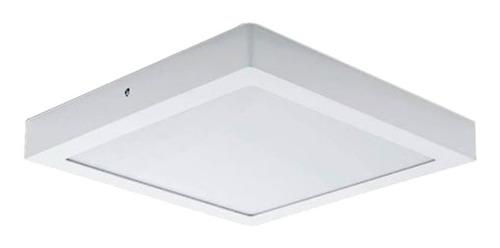 Panel Plafon Led 24w  Aplicar Cuadrado 30x30cm