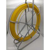 Laucha Pasa Cables Fibra 6mm X 100mts Con Carro