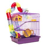 Gaiola Para Ramsters Hamster Com Tubos Labirinto De Luxo