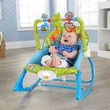 Mecedora Bebe Vibradora  Silla 3 En 1 Portatil Unisex