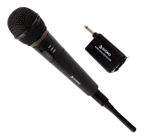 Micrófono Profesional Inalámbrico Karaoke  Wg-308e Estuche