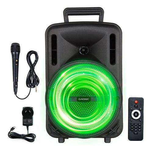 Parlante Bluetooth Gadnic Portable Xbs16 Karaoke Potenciado