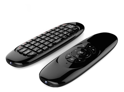 Teclado Fly Mouse Inalambrico Para Smart Tv Box Pc Mrclick
