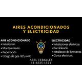 Instalación De Aires Acondicionados ( Carga De Gas)